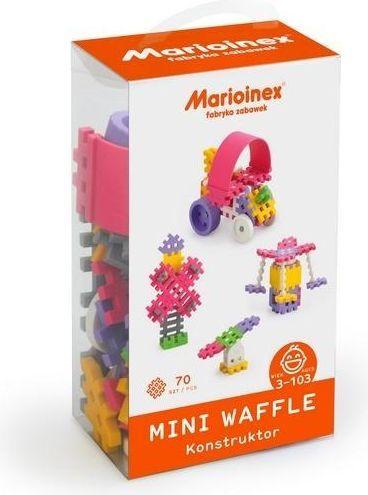 Marioinex Mini Waffle 70 el. Konstruktor 1
