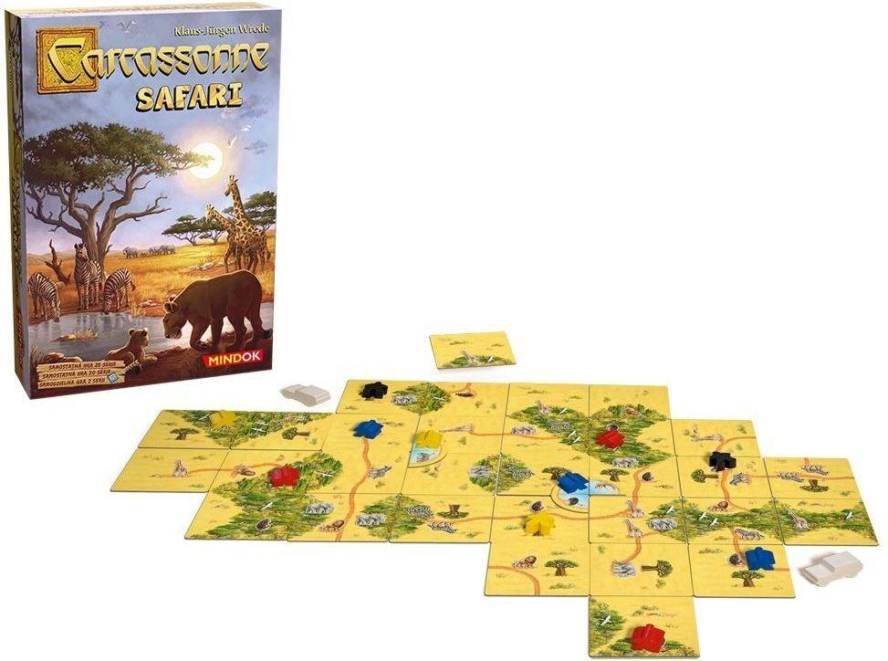 Bard Gra planszowa Carcassonne Safari 1