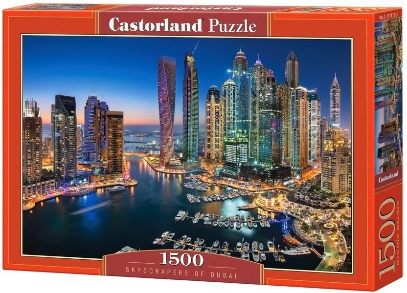 Castorland Puzzle 1500 Skyscrapers of Dubai 1