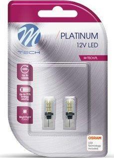 M-Tech M-Tech Platinum LED automobilinės lemputės W5W T10 OSRAM LED Technologija 1