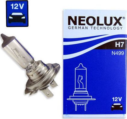 Neolux Automobilinės lemputės Neolux H7, 55W 1