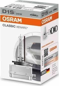 Osram Automobilinė ksenon lemputė Osram Xenarc Classic D1S 35W PK32D-2 1