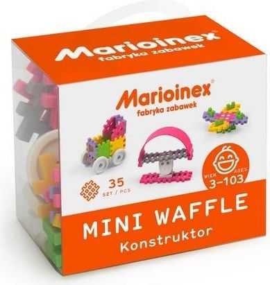 Marioinex Mini Waffle 35 el. Konstruktor 1