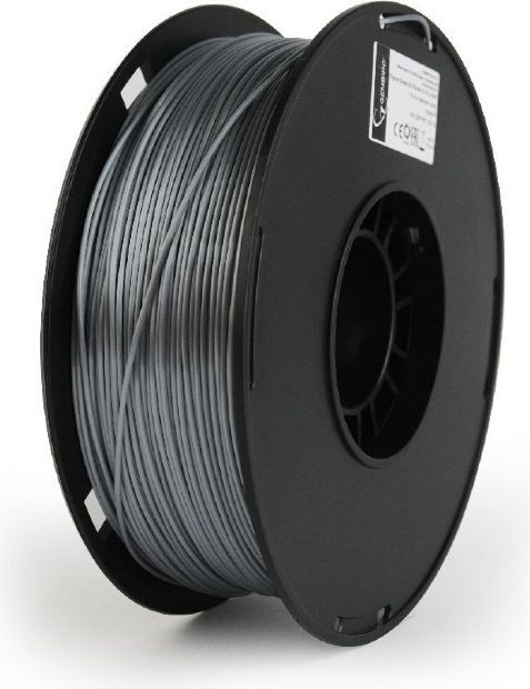 Gembird Filament PLA+ ciemnoszary (3DP-PLA+1.75-02-S) 1