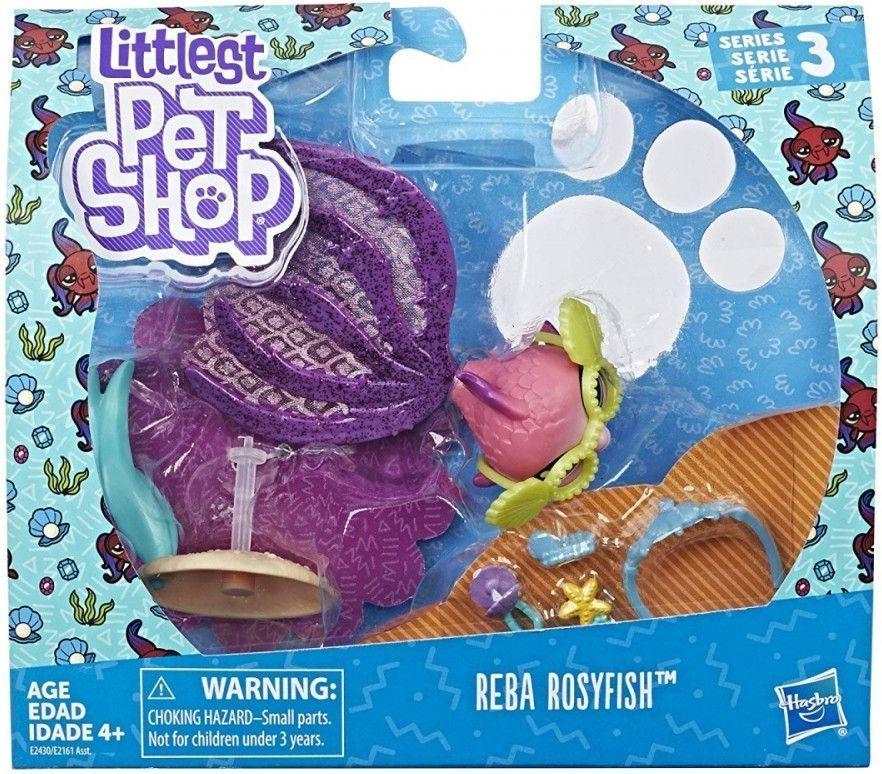 Hasbro Littlest pet Shop Zwierzaki Premium Reba Rosyfish 1