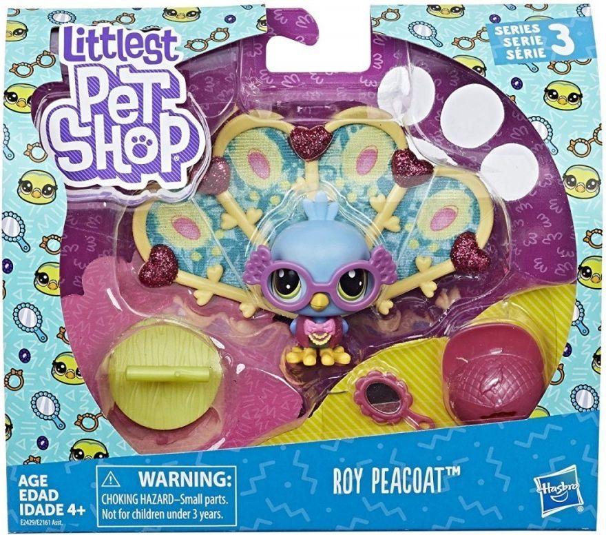 Hasbro Littlest Pet Shop Zwierzaki Premium Roy Peacoat 1