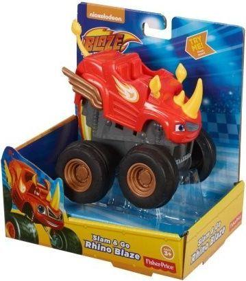 Fisher Price Monster Blaze naciśnij i jedź Rhino FHV04 1