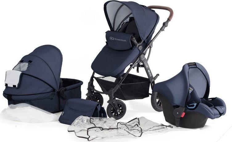 Wózek KinderKraft Wózek wielofunkcyjny 3w1 Moov granatowy 1