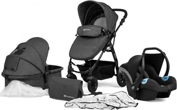 Wózek KinderKraft 3w1 Moov czarny 1