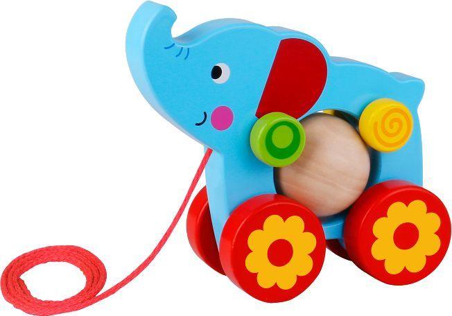 Smily Play Słoń z kulką do ciagnięcia 1