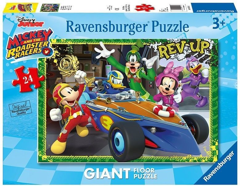 Ravensburger Puzzle 24 elementy Mickey i Raźni Rajdowcy 1