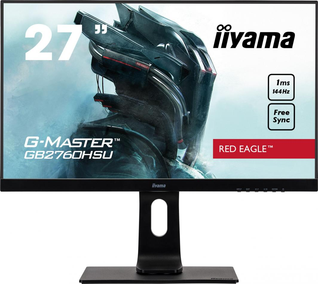 Monitor iiyama G-Master Red Eagle GB2760HSU-B1 1