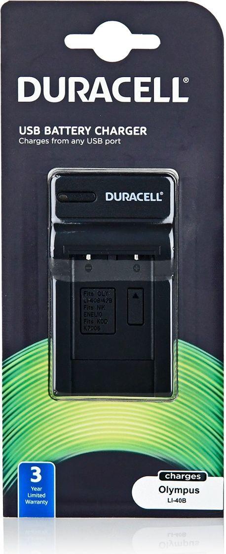 Ładowarka do aparatu Duracell DRO5940 (LI-40B,NP-45) 1
