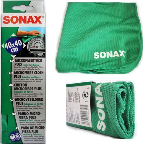 SONAX Mikropluošto servetėlė automobilio vidui ir stiklams SONAX 1