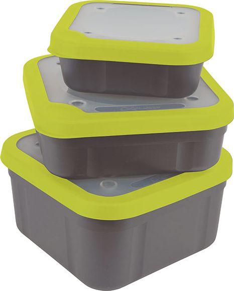 Fox Matrix Grey/Lime Bait Boxes 1.1 pt (GBT013) 1