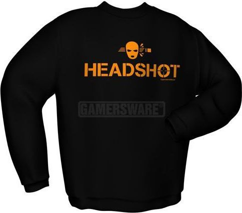 GamersWear Bluza HEADSHOT czarna (S) ( 5926-S ) 1