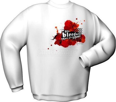 GamersWear Bluza YOU BLEED BETTER biała (L) ( 6045-L ) 1