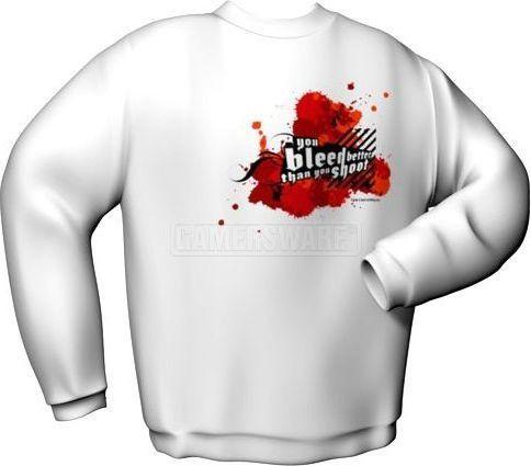 GamersWear Bluza YOU BLEED BETTER biała (S) ( 6045-S ) 1