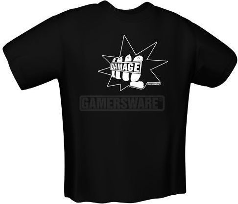 GamersWear QUAD DAMAGE czarna (S) ( 5090-S ) 1