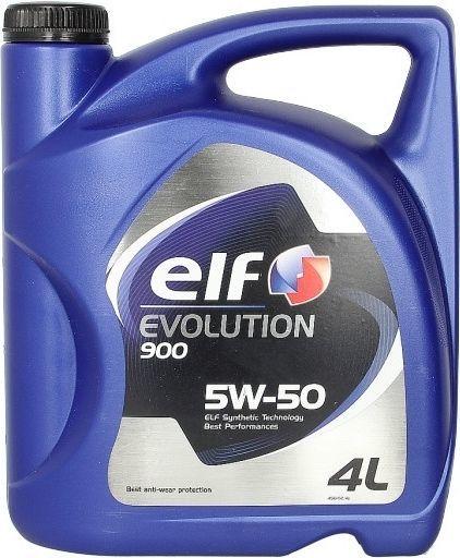 Olej silnikowy Elf Evolution 900 syntetyczny 5W-50 4L 1