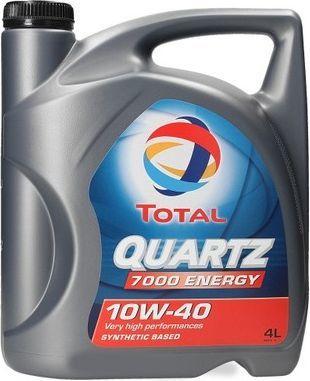 Olej silnikowy Total Quartz 7000 półsyntetyczny 10W-40 4L 1