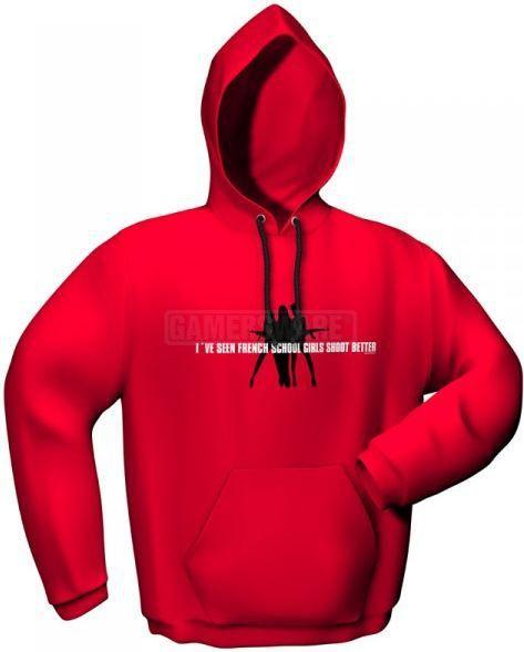 GamersWear Bluza SCHOOLGIRLS czerwona (L) ( 5077-L ) 1