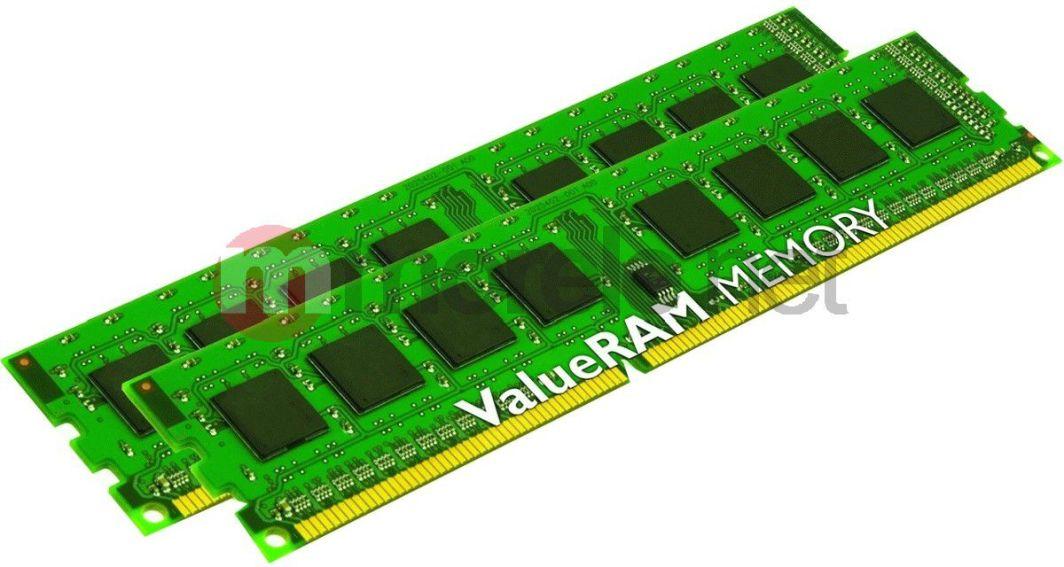 Pamięć Kingston ValueRAM, DDR3, 16 GB, 1600MHz, CL11 (KVR16N11K2/16) 1