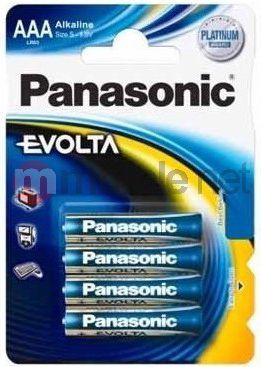 Panasonic Bateria Evolta AAA / R03 4szt. 1