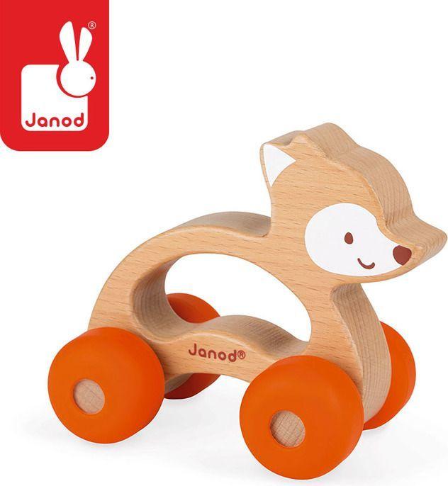 Janod Lisek pojazd Baby Pop 1
