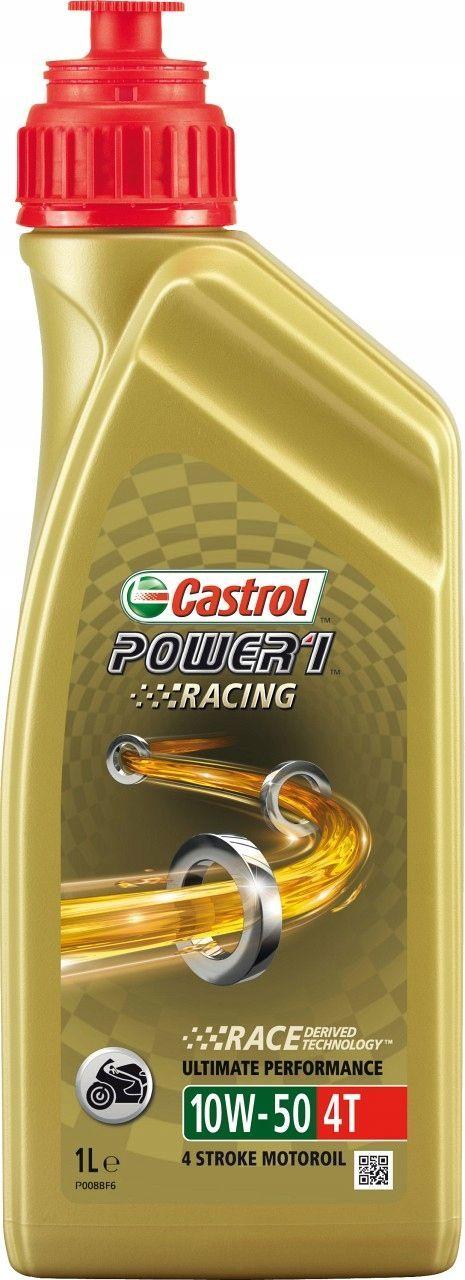 Olej silnikowy Castrol Power 1 Racing syntetyczny 10W-50 1L 1