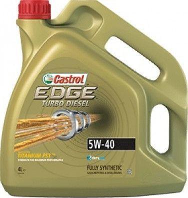 Olej silnikowy Castrol Edge Turbo Diesel syntetyczny 5W-40 4L 1