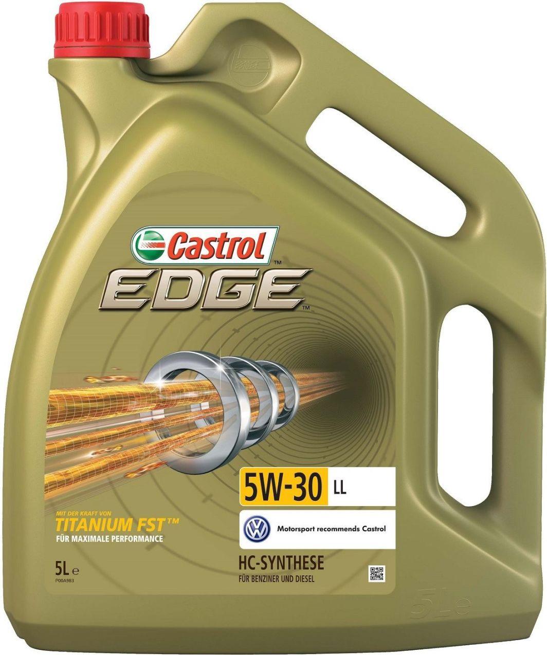 Olej silnikowy Castrol Edge syntetyczny 5W-30 5L 1