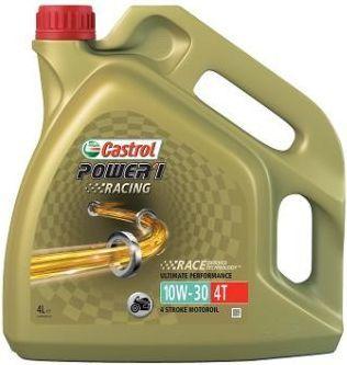 Olej silnikowy Castrol Power 1 Racing półsyntetyczny 10W-30 4L 1