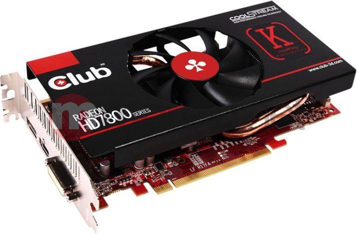 Karta graficzna Club 3D HD7850 1GB GDDR5 910MHz DP HDMI DVI CoolStream [CGAX-7852O] 1