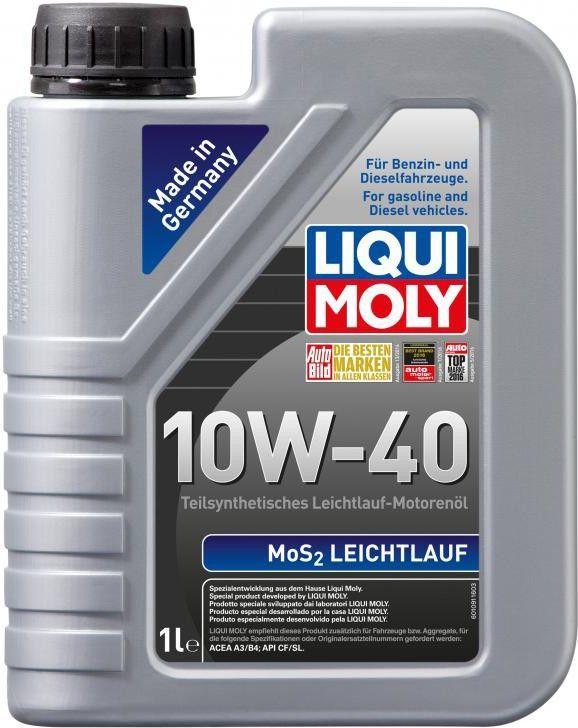 Olej silnikowy LIQUI MOLY MOS2-Leichtlauf półsyntetyczny 10W-40 1L 1