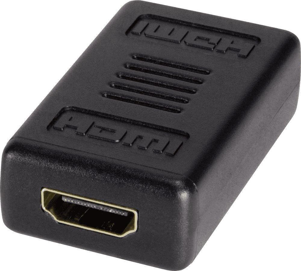 Adapter AV LogiLink HDMI - HDMI czarny (AH0006) 1