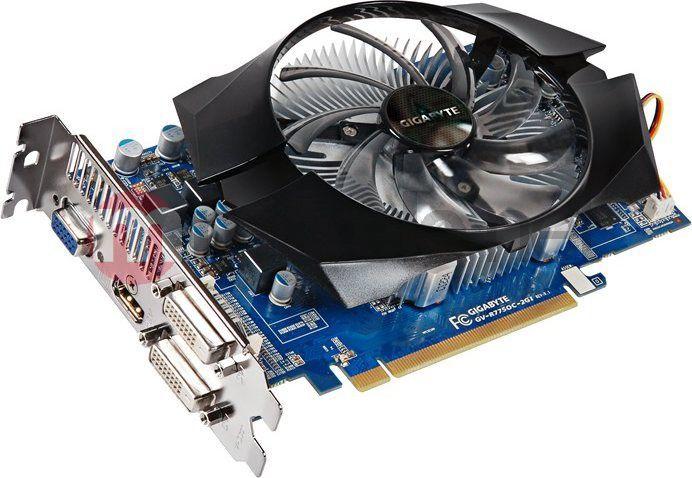 Karta graficzna Gigabyte Radeon HD7750 2GB DDR3 GV-R775OC-2GI 1