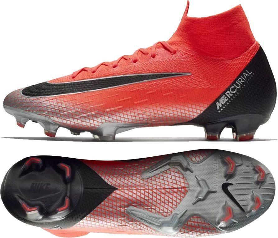 3eeab4cf2c50e Nike Buty Mercurial Superfly 6 Elite CR7 FG czerwone r. 42 1/2 w Sklep -presto.pl