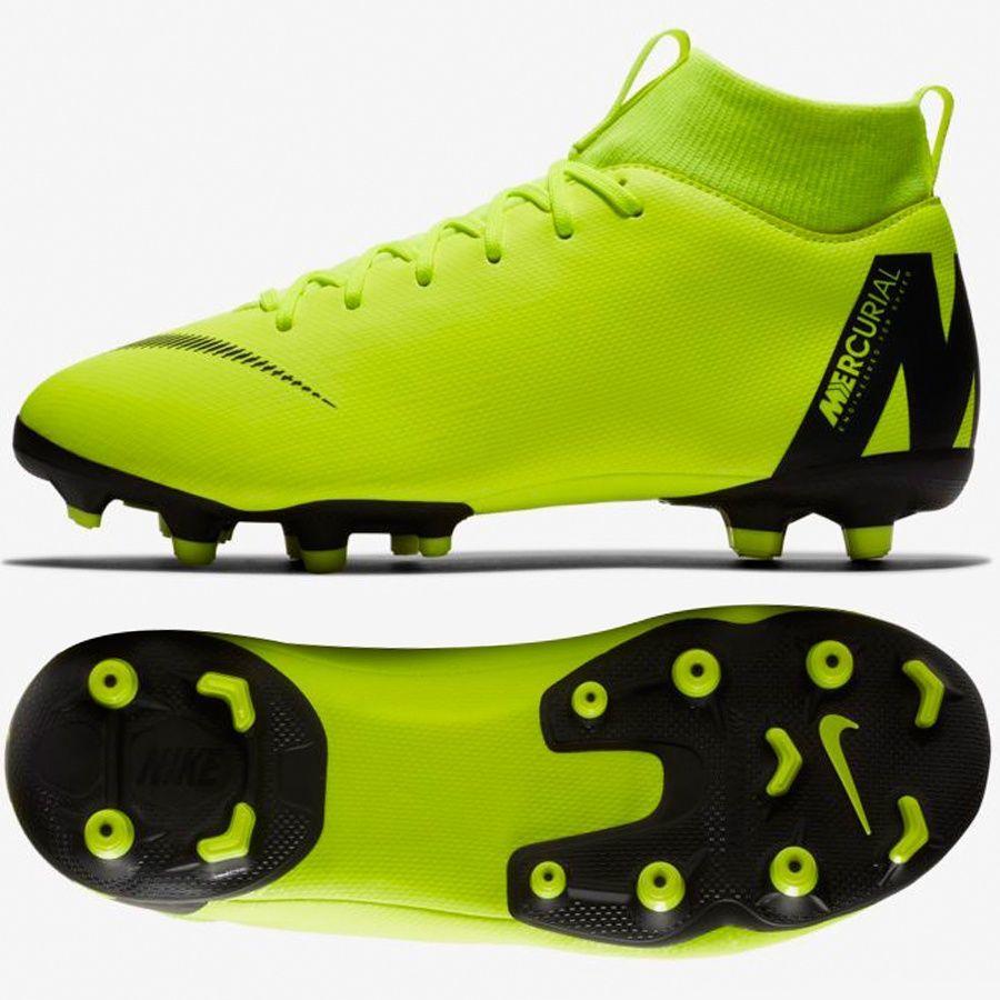 info for 9a1ab dd5cb Nike Buty JR Mercurial Superfly 6 Academy GS MG FG żółte r. 38 1/2 w  Sklep-presto.pl