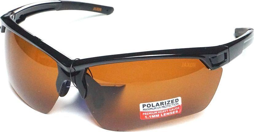 Jaxon Okulary polaryzacyjne szkła bursztynowe (AK-OKX40AM) 1