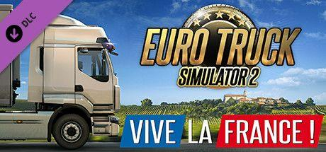 Euro Truck Simulator 2 - Vive la France DLC Steam CD Key ID produktu:  5227536