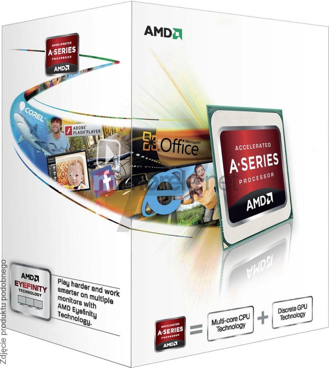 AMD A-Series A4-5300B 3.4GHz Socket FM2 Desktop CPU AD530BOKA23HJ