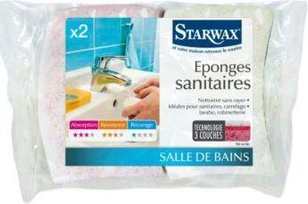 Starwax Gąbki sanitarne 2szt. (1398) 1