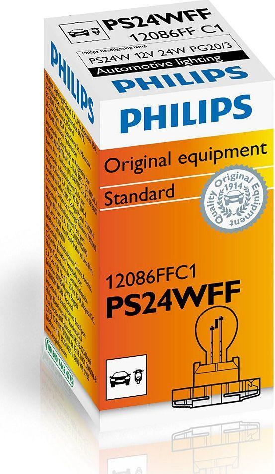 Philips ŻARÓWKA PS24W 12V/24W PG20/3 1