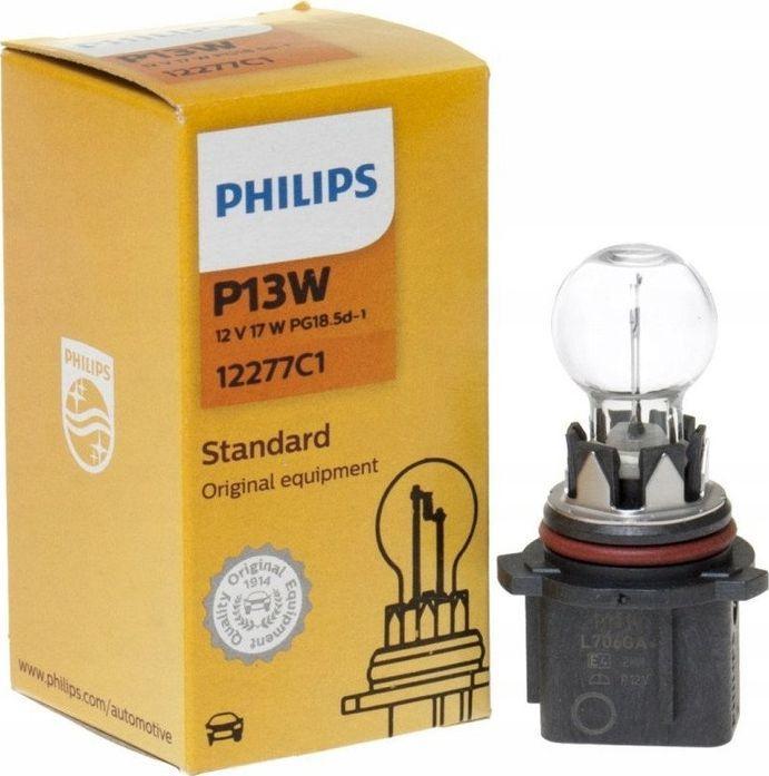Philips ŻARÓWKA P13W 12V/13W PG18.5D-1 PHILIPS 1