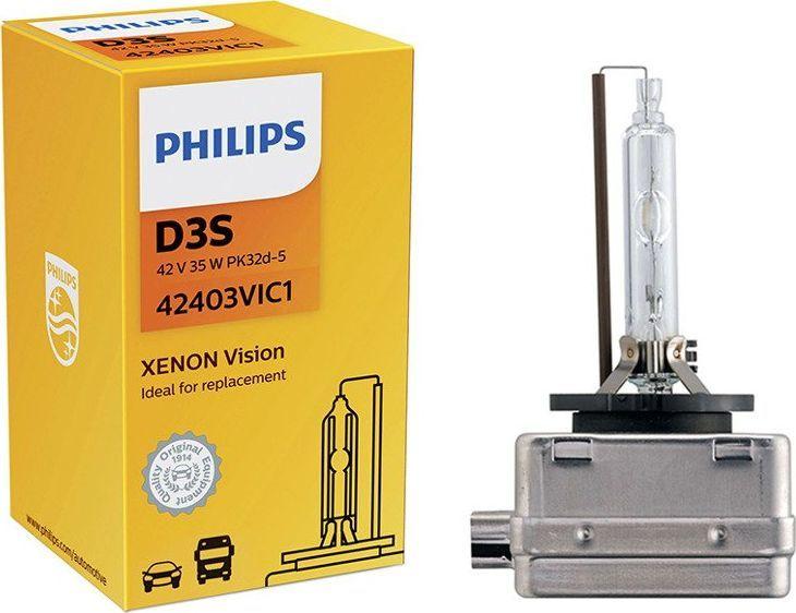 Philips ŻARÓWKA XENONOWA D3S 42V/35W 4600K PHILIPS VISION 1