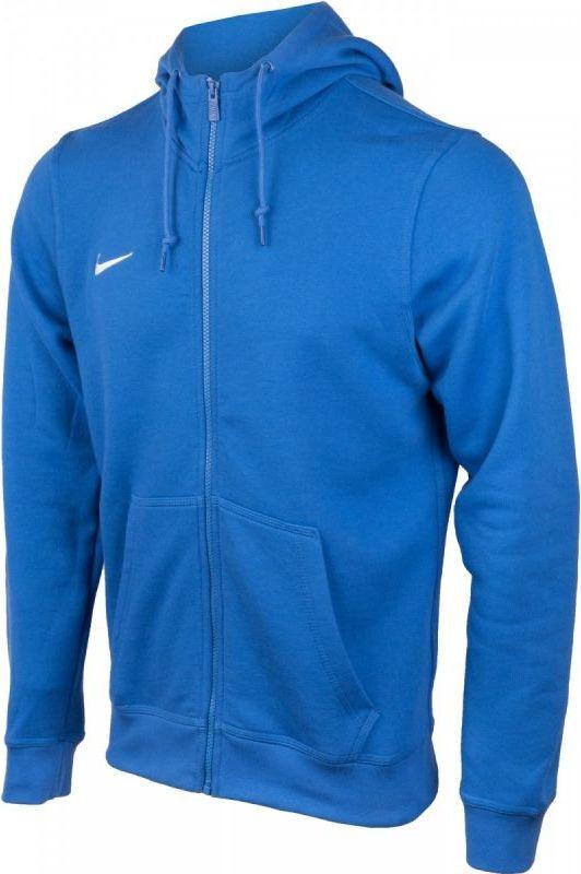 Bluza męska NIKE TEAM CLUB 19 Niebieska z kapturem Sportowa