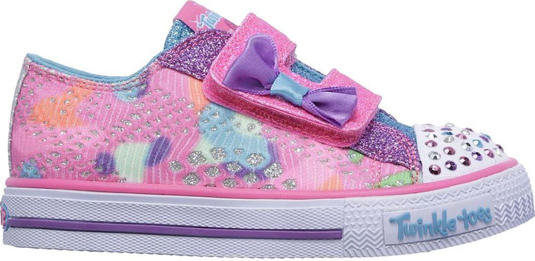 Skechers Trampki dziecięce Shuffles Little Lovely różowe r. 23 ID produktu: 5249220