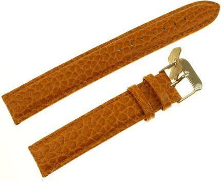 Diloy Pasek do zegarka skórzany brązowy 18 mm (P205EL.18.10) 1