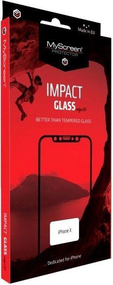 MyScreen Protector ImpactGLASS Edge 3D dla iPhone 7/8 biały 1